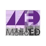 MetroED logo